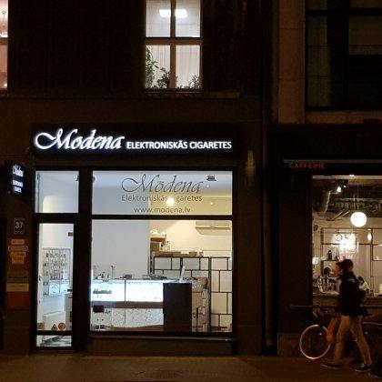 Modena Vape Shop - Brīvības iela 37, Rīga