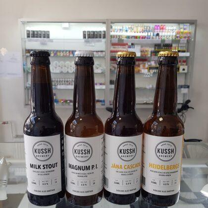 Kussh brewery - alus no mazas craft alus darītavas no Siguldas.